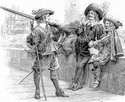 3 мушкетера