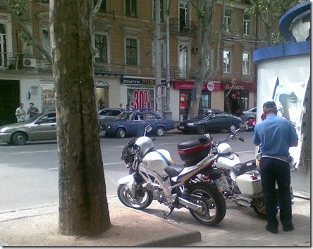 Милиция на мотоциклах