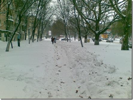 Одесса - тротуары