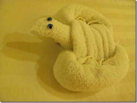 Полотеца - черепаха