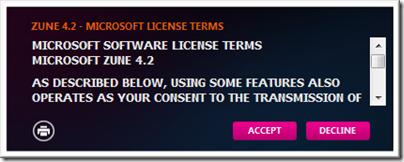 ZuneSoftware - license agreement
