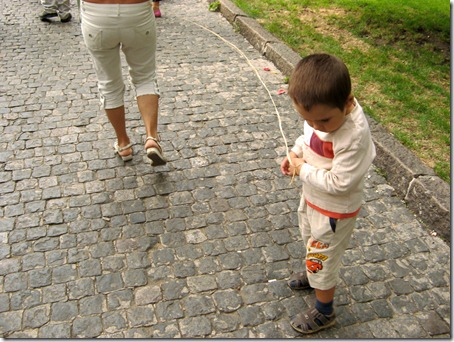 Ребёнок на привязи