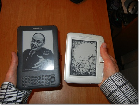 Amazon Kindle 3 и Pocketbook 360+