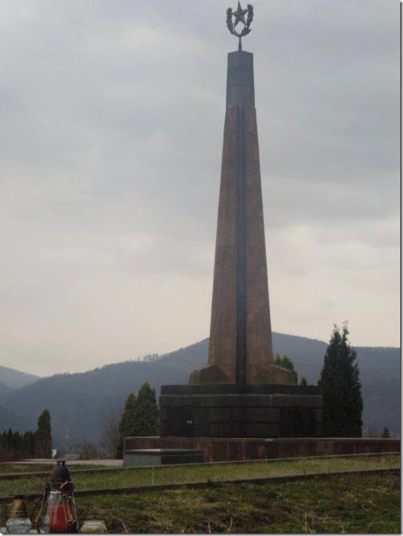 Зволен кладбище советским войнам 3
