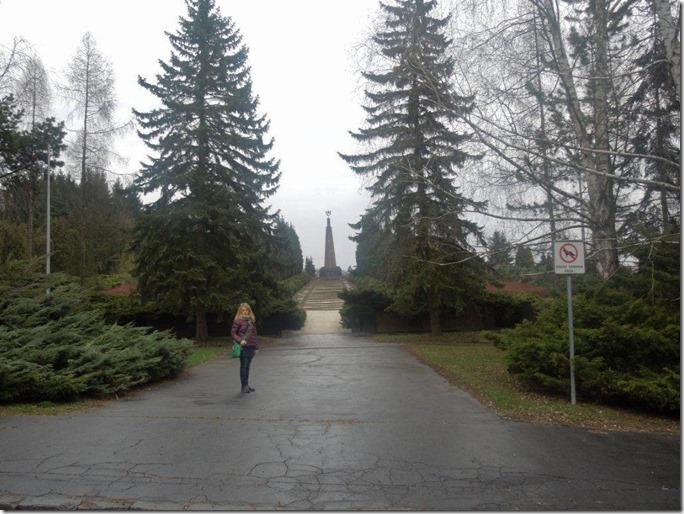 Зволен кладбище советским войнам
