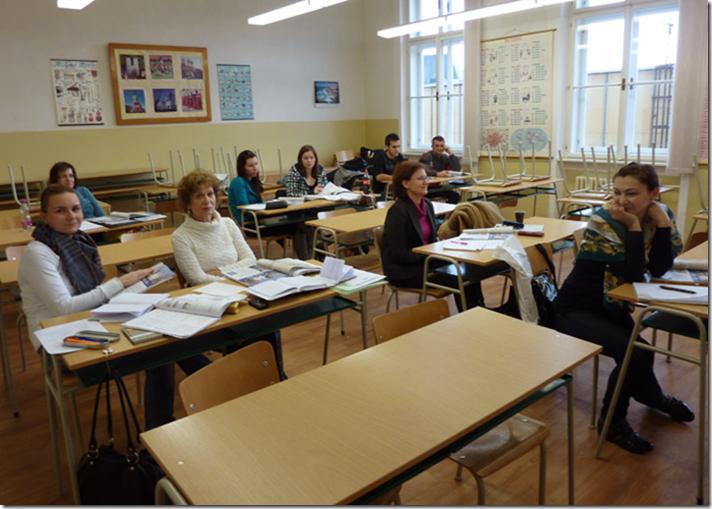 Jazyková škola, Priestory školy na Palisadoch. Фото с официального сайта