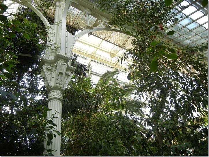 Верхние части опорных колонн